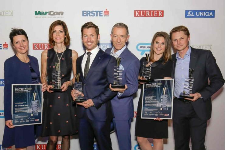 IMMY 2017 Preistraeger Gold