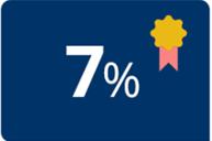 7 Prozent