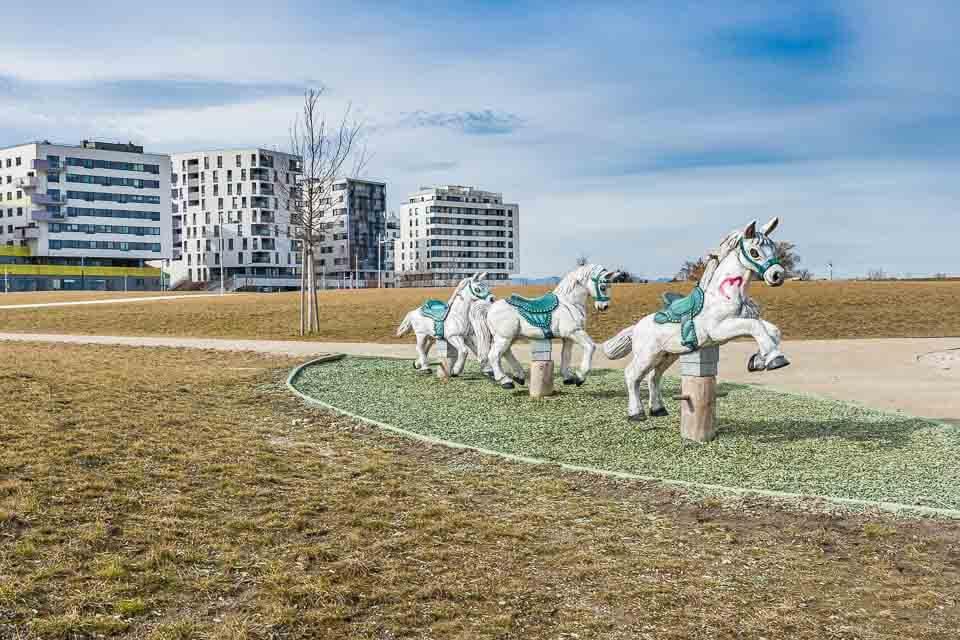 Spielplatz Seestadt