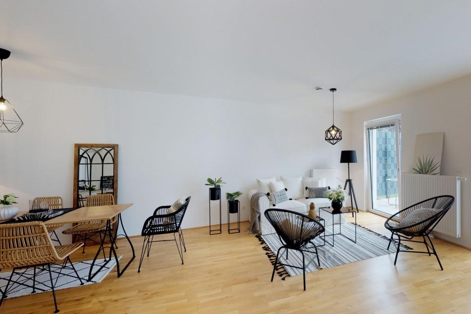 Wohnzimmer Reihenhaus Top 205